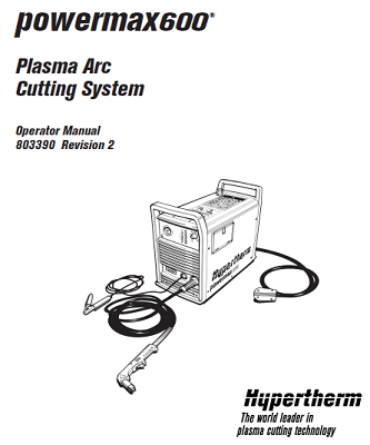 screenshot2011 09 21at21027pm hypertherm powermax 600 operator's manual 803390 Hypertherm PMX 105 at n-0.co
