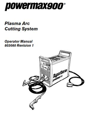 Hypertherm Powermax 900 Operators Manual