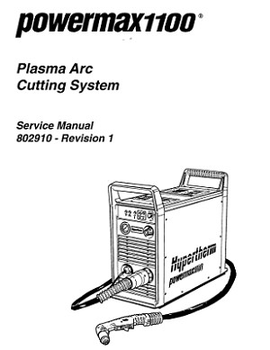 Hypertherm Powermax 1100 Service Manual