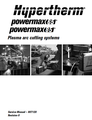 Hypertherm Service Manual for Powermax65/85