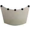 Hypertherm 017030 Leather Neck Guard for Dual Face Shield