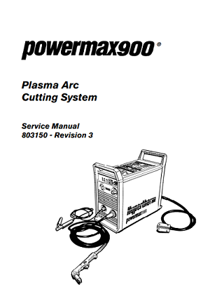 Hypertherm Powermax 900 Service Manual