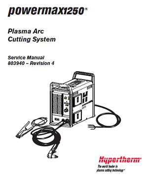 Hypertherm Powermax 1250 Service Manual